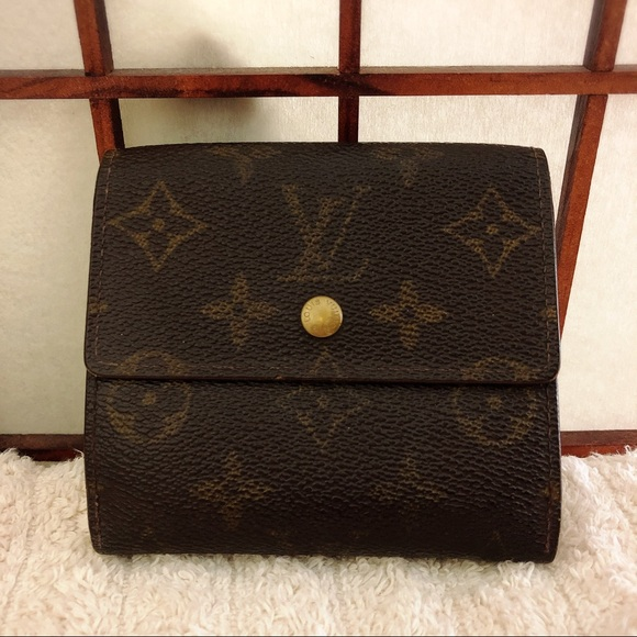 8f70838929cb Louis Vuitton Handbags - Louis Vuitton Elise trifold monogram small wallet